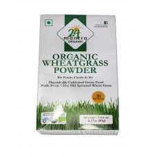 24 mantra Organic Wheatgrass Powder