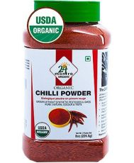 24 mantra Organic Chilli Powder (Bottle)