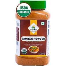 24 mantra Organic Sambar Powder (Bottle)