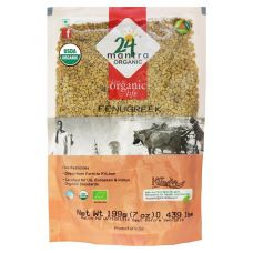 24 mantra Organic Methi Seeds (Fenugreek)