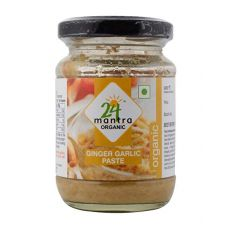 24 mantra Organic Ginger Garlic Paste