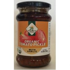 24 mantra Organic Tomato Pickle With Garlic
