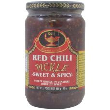 Deep Red Chilli Sweet and Spicy Pickle