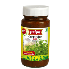 Priya Coriander Pickle With Garlic