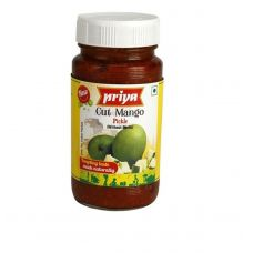 Priya Cut Mango Pickle Without Garlic