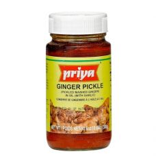 Priya Ginger Pickle With Garlic