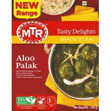 MTR Alu Palak(Ready-To-Eat)