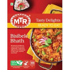 MTR Bisibelebath - Spiced Rice & Lentil Dish (Ready-to-Eat)