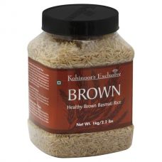 Kohinoor Brown Basmati Rice in Jar