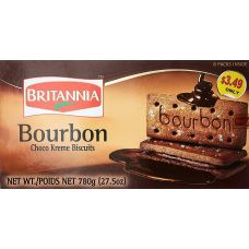 Britannia Bourbon 8 Packs