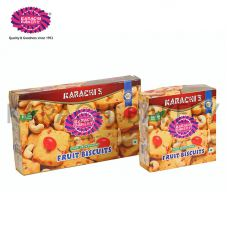 Karachi Bakery Fruit Biscuits Pure Vegetarian