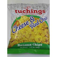 Tuchings Cheese and Red Onion Chips