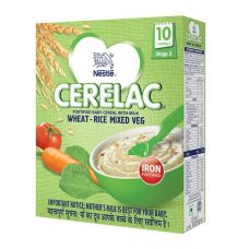 Cerelac Wheat Rice Mixed Veg Stage 3
