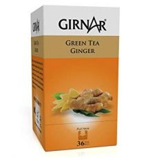 Girnar Green Tea Ginger 36 Tea Bags