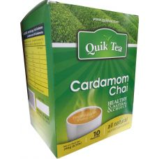 Quick Tea Cardamom Chai 10 Pouches