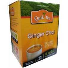 Quick Tea Ginger Chai 10 Pouches