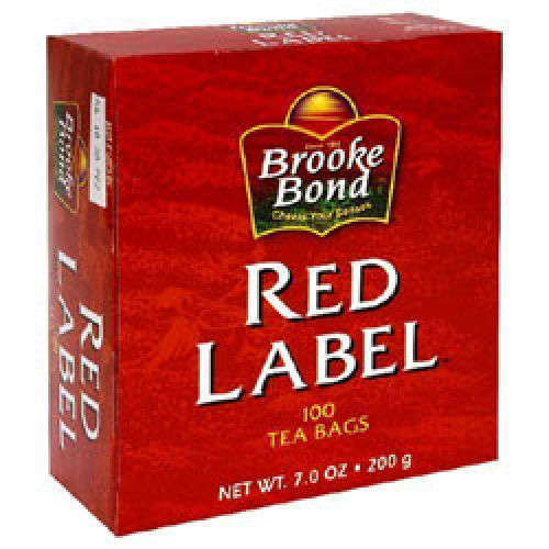 Brooke Bond Red Label 100 Tea Bags