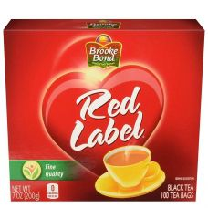 Brooke Bond Red Label Black Tea 100 Tea Bags