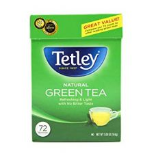 Tetley Natural Green Tea 72 Tea Bags