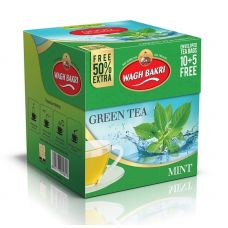 Wagh Bakri Green Tea Mint 10 Tea Bags