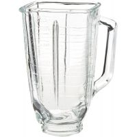 Oster 5-Cup Glass Square Top Blender Jar, Square Top,Clear