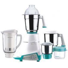 Preethi NITRO-4J Mixer Grinder, 3 Jar with Super Extractor, White