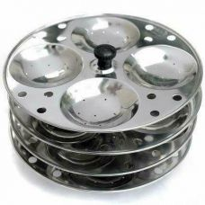 Tabakh 4-Rack Stainless Steel Idli Stand