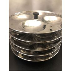 Tabakh 5-Rack Stainless Steel Idli Stand