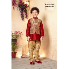 Boys Stylish Kurta Pajama & Jacket Indian Dress 1 to 4 Years