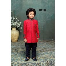 Bright Red & Blue Kurta Pajama for Boys 1 to 11 Year Old