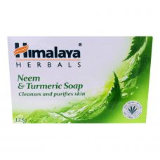 Himalaya Herbals Soap Neem & Turmeric Cleanses and Purifies Skin 125gm Free Shipping