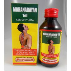 Baidyanath Mahanarayan Tel Oil Joint & Muscular Pains Natural Herbel 100ml