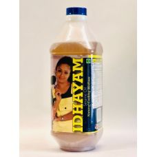 Idhayam Sesame Oil - Natural Cooking Medium - 34 fl. oz ( 1 Liter) (2 lbs / 914g)