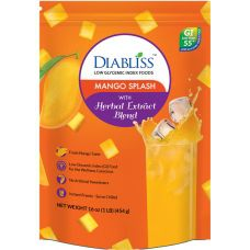 Diabliss Mango Splash - Low Glycemic - 1 lb