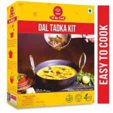 EL The Cook | Dal Tadka Kit with Readymade Tadka (All Natural, Gluten Free)