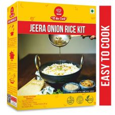 EL The Cook | Jeera Onion Rice Kit with Ready Tadka + Fried Onions