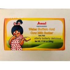 Amul Water Buffalo and Cow Milk Butter / Salted (500g)