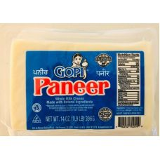 Gopi Paneer / Whole Milk Cheese (14 oz / 396g)
